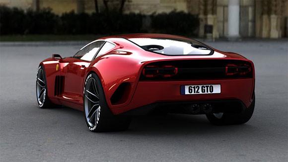 Ferrari GTO. Проект Саши Селипанова. Изображение № 5.