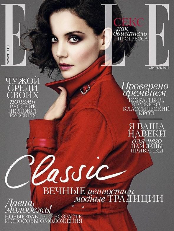 Обложки: Elle и Harper's Bazaar. Изображение № 1.