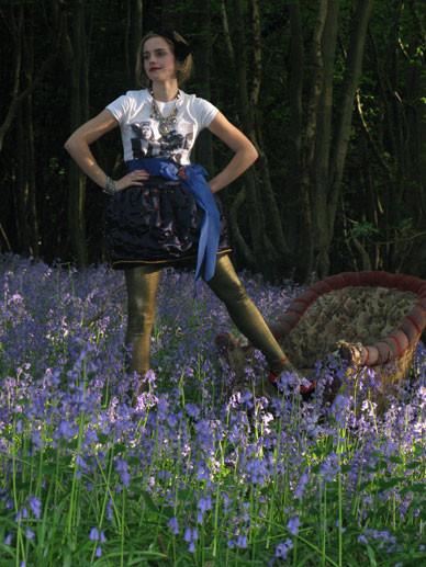 Emma Watson дляTeen Vogue August 2009. Изображение № 17.