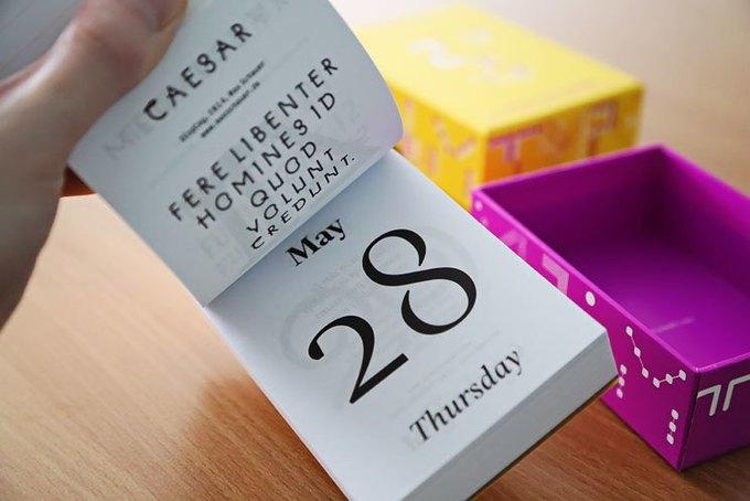 С каким календарём я начну следующий год. Изображение № 9.