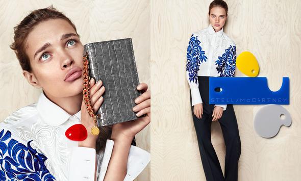 Новые кампании: Donna Karan, H&M, Mauro Grifoni, Stella McCartney, Sonya Rykiel. Изображение №31.