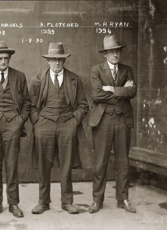 Фотографии американских гангстеров начала 20 века. Изображение № 9.