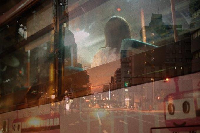 Таксист-фотограф снимает ночной город. Изображение № 1.