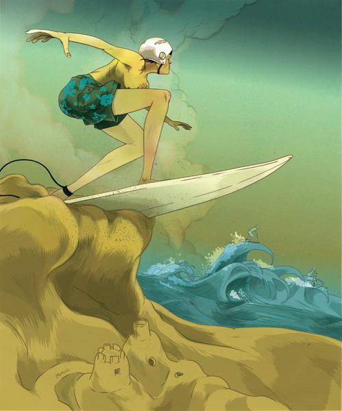 Рисунки американского иллюстратора Марко Шина.. Изображение № 27.