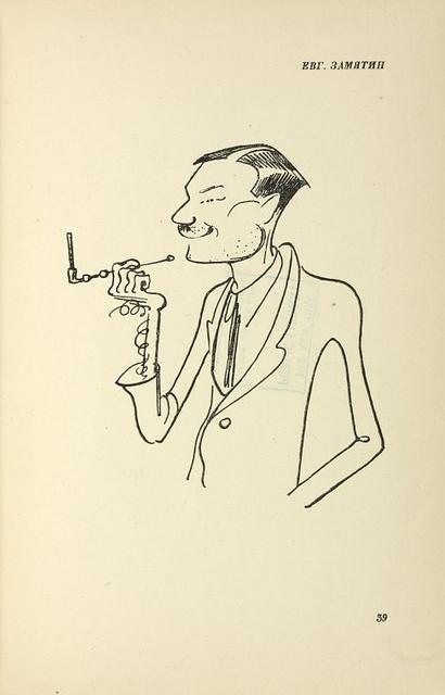 Карикатуры на писателей. Изображение № 31.