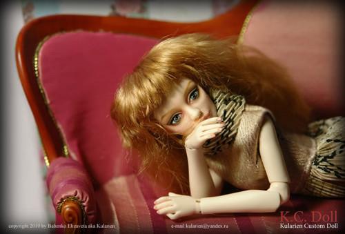 K.C.Doll. Миниатюра на шарнирах. Изображение № 15.