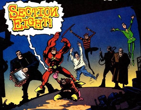 Section Eight - команда нелепых супергероев. Изображение № 1.