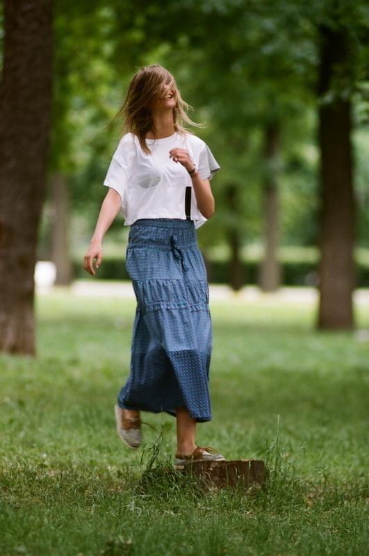 На Маше: юбка Extra, футболка Cheap Monday. Изображение № 21.