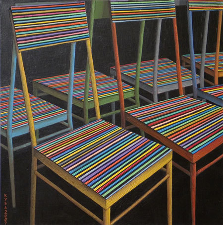 Куаныш Базаргалиев. Столы истулья. Изображение № 10.