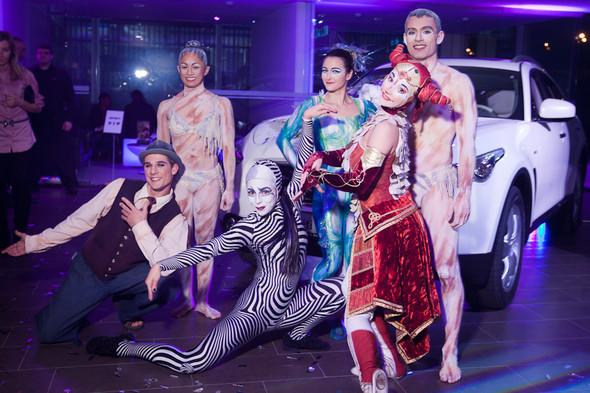 Cirque du Soleil на открытии дилерского центра INFINITI. Изображение № 15.