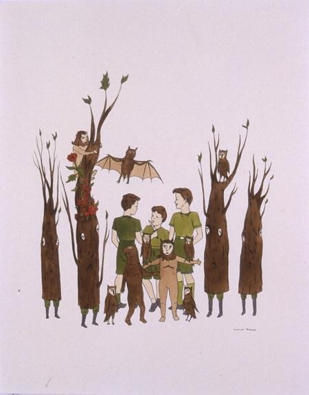 Канадский художник Marcel Dzama. Изображение № 10.