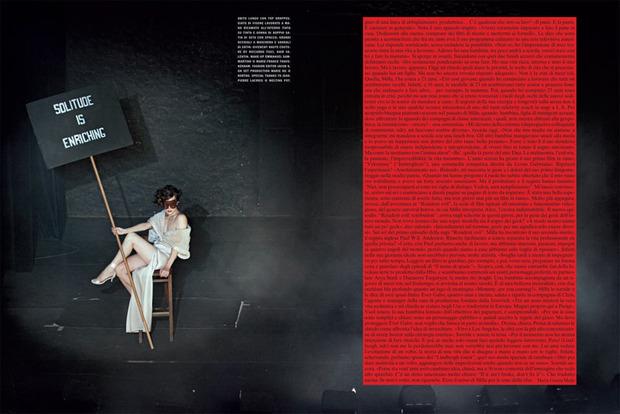 Вышли новые съемки Vogue, i-D, 10 и Interview. Изображение № 63.