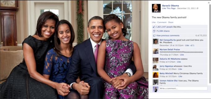 Названы самые популярные фото года в «Фейсбуке». Изображение №17.