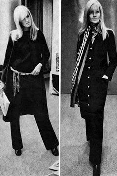 Двемузы известного дизайнера ИваСен Лорана. Изображение № 5.