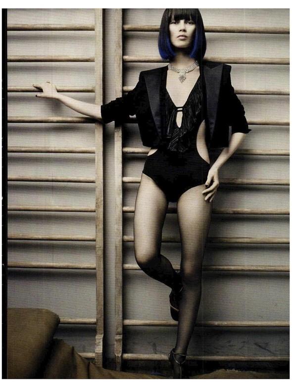 Съемки: Vogue, Numero, Tush и другие. Изображение №45.