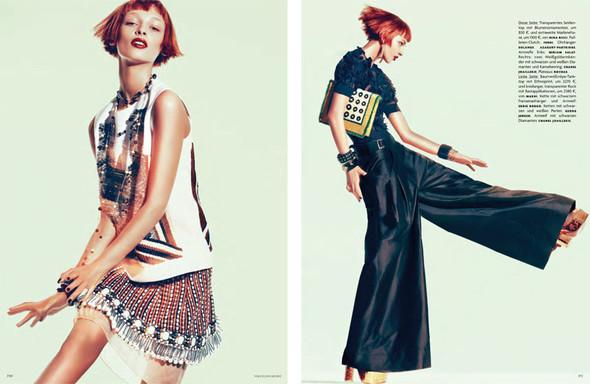 Съёмка: Дага Зёбер для Vogue. Изображение № 3.