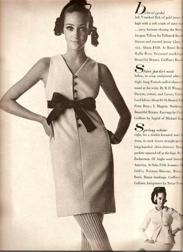 «Выгляди великолепно» каквVogue 1967 года. Изображение № 12.