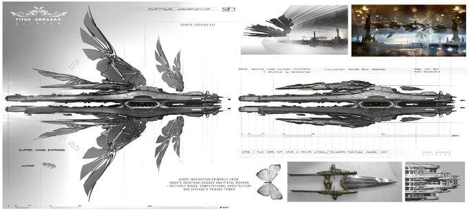 Художник «Восхождения Юпитер» выложил концепты к фильму. Изображение № 30.