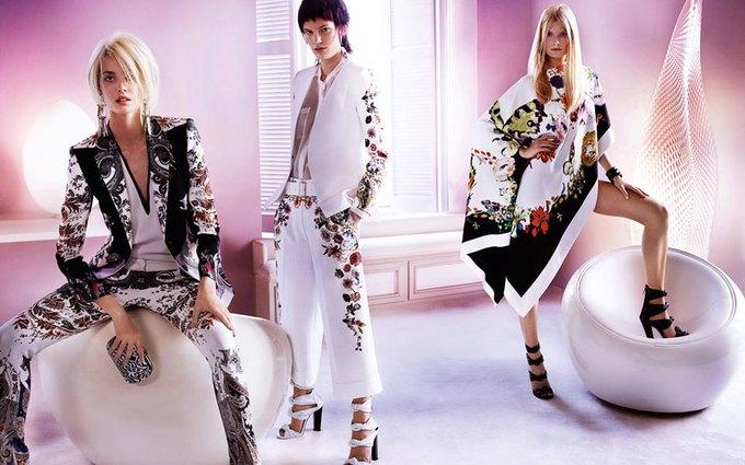 Alexander McQueen, Celine и LUBLU Kira Plastinina показали новые кампании. Изображение № 10.