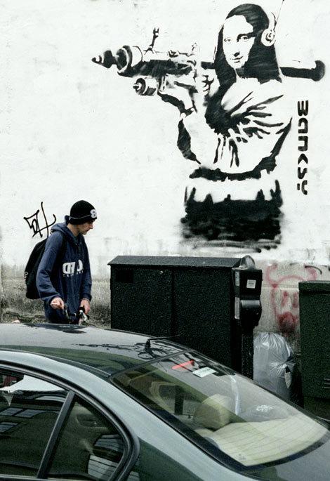 Изображение 41. Banksy (уличная мышь – герой).. Изображение № 41.