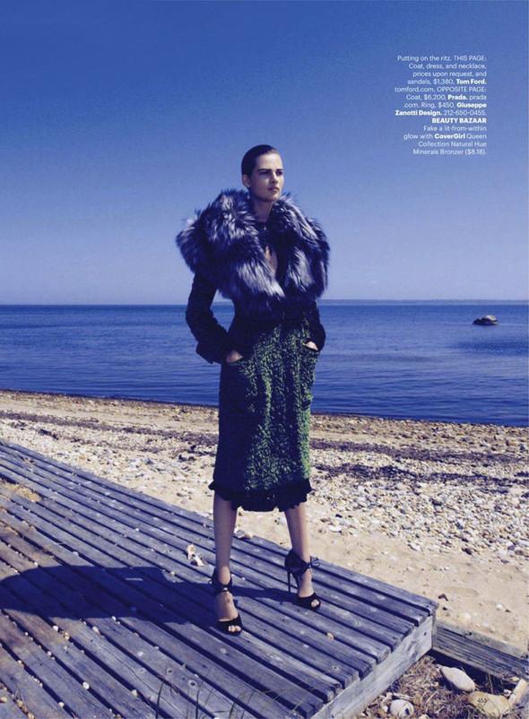 Съёмка: Бетте Франке для Harper's Bazaar. Изображение № 7.