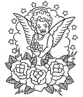 татуировка ангел значение. Изображение № 4.