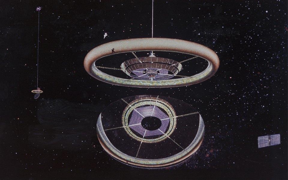 Рай не на земле: Какими в NASA представляли космические колонии будущего. Изображение № 5.