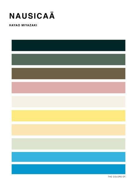 Дизайнер выбрал цвета из фильмов Миядзаки и Disney. Изображение № 9.