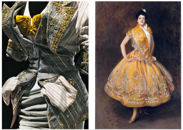 Жакет и юбка из коллекции haute couture FW 2003 / Джон Сингер Сарджент (1856–1925). «Карменчита». Около 1900. Холст, масло. Изображение № 7.