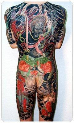 Японские татуировки. Изображение № 2.