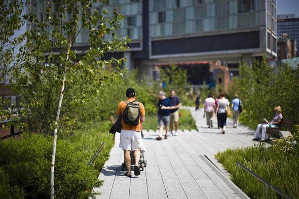 The High Line: история о том, как железная дорога обрела друзей. Изображение № 5.