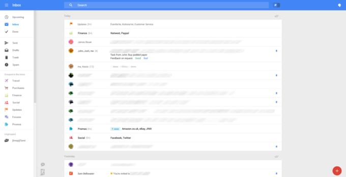 Появились скриншоты экспериментального интерфейса Gmail . Изображение № 3.