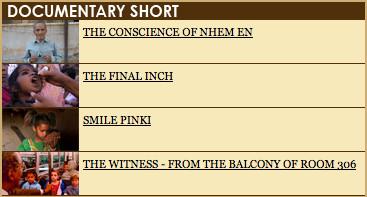 Номинанты на«Оскар» 2009. Изображение № 5.