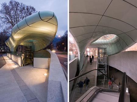 Современная архитектура малых форм отZaha Hadid. Изображение № 4.