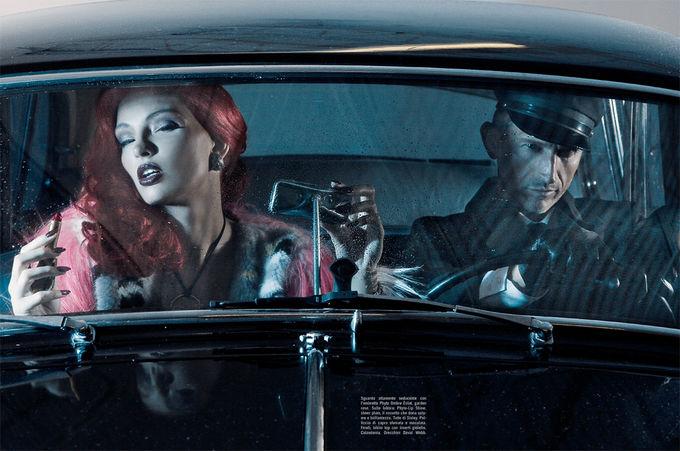 Dazed & Confused, Fat, Vogue и другие журналы выпустили новые съемки. Изображение № 77.