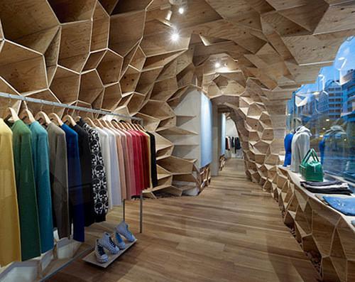 Изображение 31. 20 Великолепных дизайнерских концепций бутиков.. Изображение № 38.