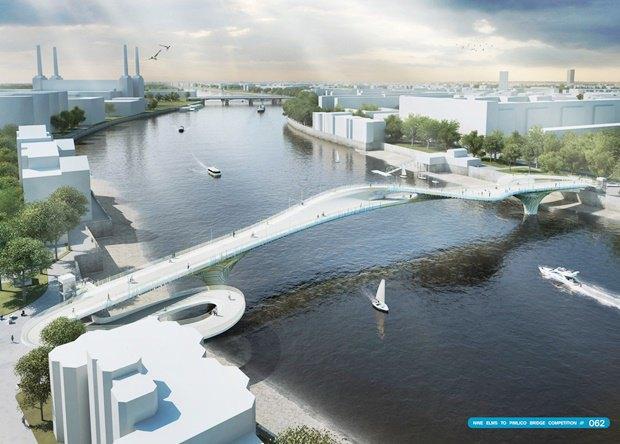 Выложены 74 проекта нового моста через Темзу. Изображение № 10.