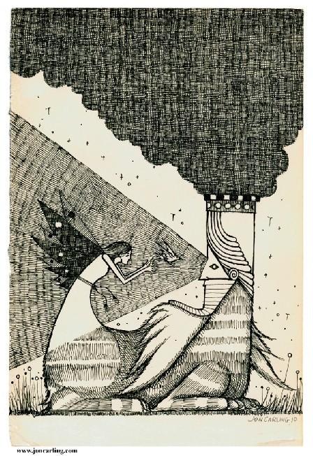 Jon Carling – мистерии в гелевой ручке. Изображение № 25.