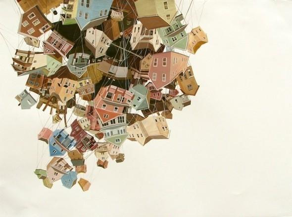 Города сточки зрения иллюстратора ЭмиКэйси. Изображение № 12.