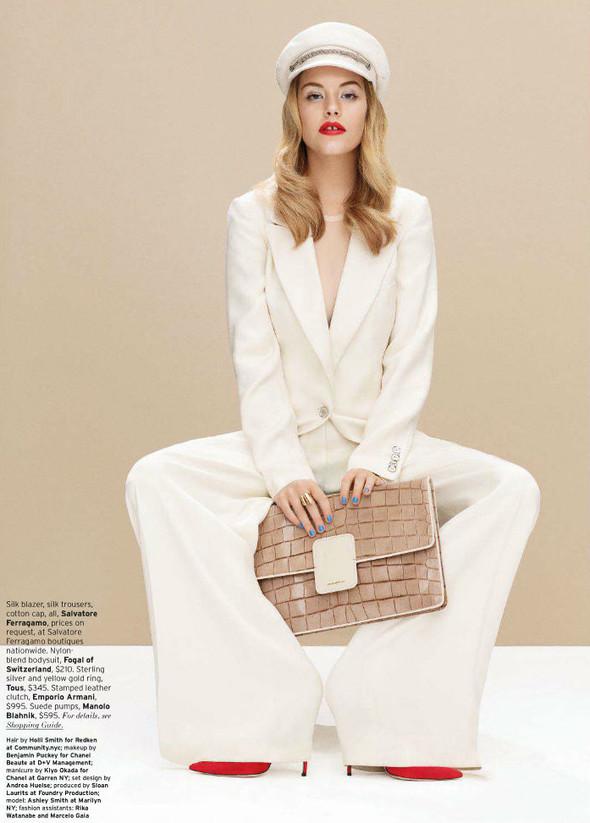 Съёмка: Эшли Смит для Elle. Изображение № 6.