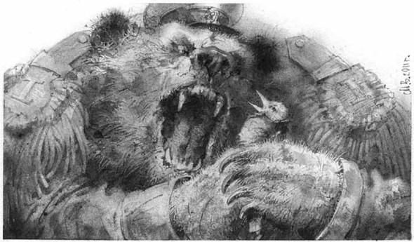 Сказки Салтыкова-Щедрина. Иллюстрации Владимира Мыслицкого.. Изображение № 2.
