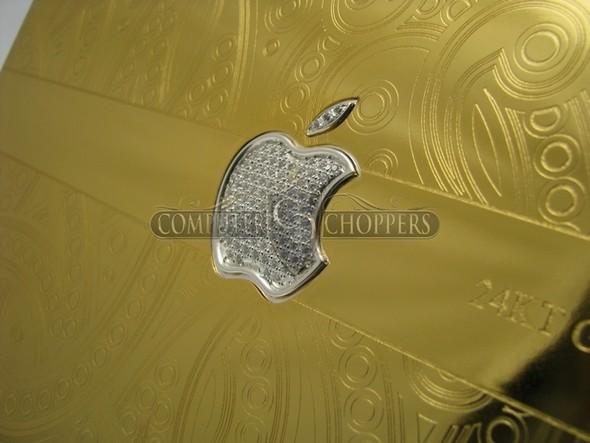 Макбук из золота от Computer Choppers. Изображение № 3.