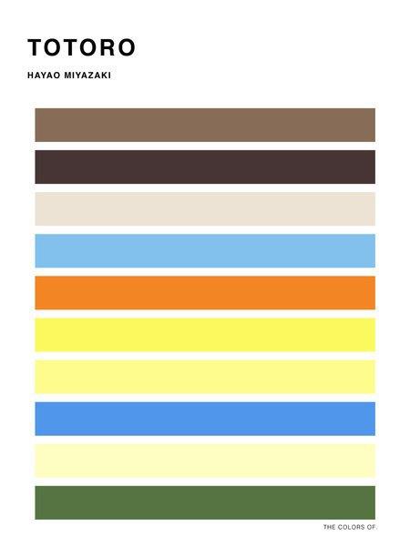 Дизайнер выбрал цвета из фильмов Миядзаки и Disney. Изображение № 10.