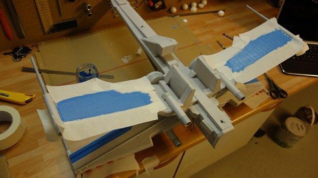 Энтузиаст собрал дрон в виде истребителя X-Wing. Изображение № 21.