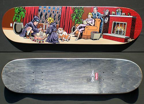 К доске: 10 художников-скейтбордистов. Изображение №92.