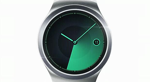 Samsung показала круглые часы Gear S2. Изображение № 4.