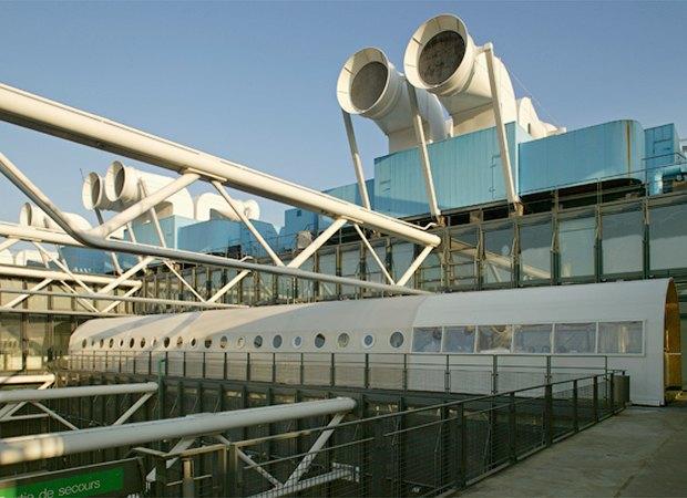 Архитектурная студия на крыше Центра Помпиду, 2004 год. Изображение № 10.