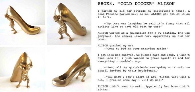 Дизайнер распечатал коллекцию туфель на 3D-принтере. Изображение № 6.