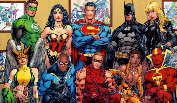 Команда «Лиги Справедливости». Изображение № 1.