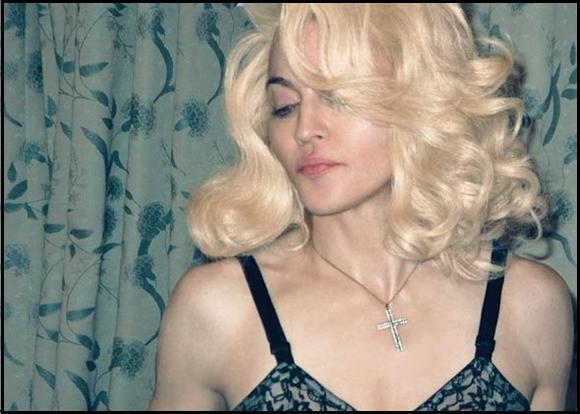 Madonna & Jesus дляWmagazine. Изображение № 3.